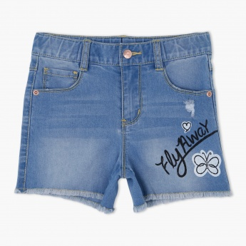Bossini Shorts with Button Closure