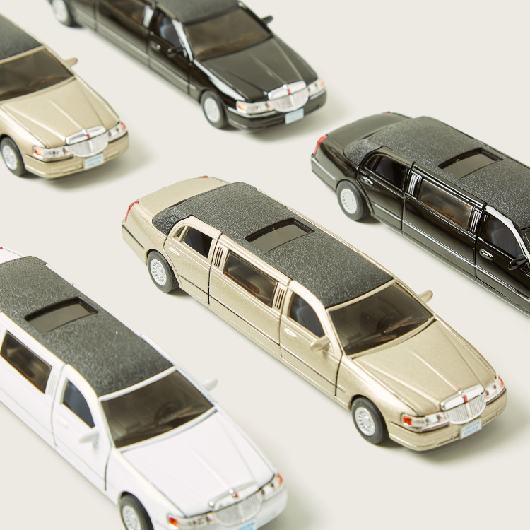 Kinsmart 7 1999 Lincoln Town Car Stretch Limousine