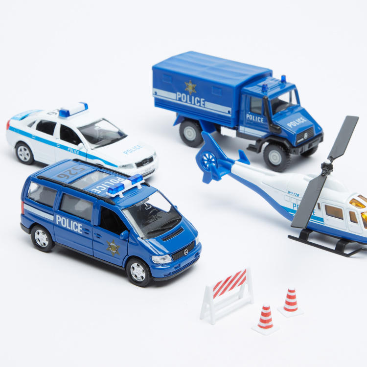 Welly 7-Piece Police Playset