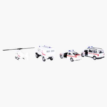 Welly Urban Spirit Rescue Team Set
