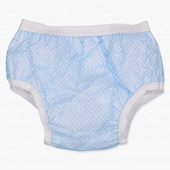 Juniors Printed Trainer Briefs with Elasticised Waistband