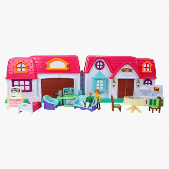 Home Sweet Home Doll House Play Set