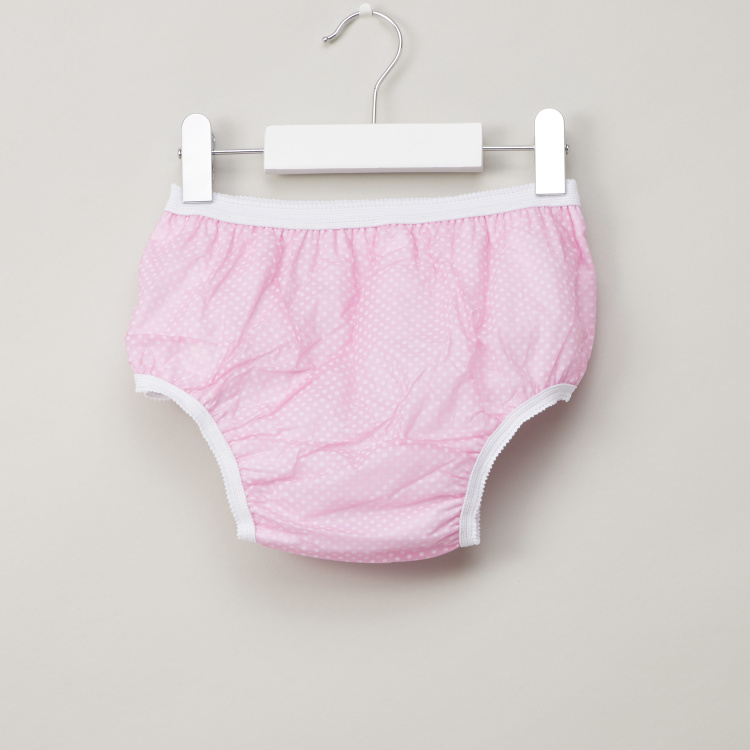 Juniors Printed Trainer Panty with Elasticised Waistband - 24 months