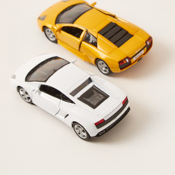 Welly Diecast Lamborghini Pull Back Twin Car Pack