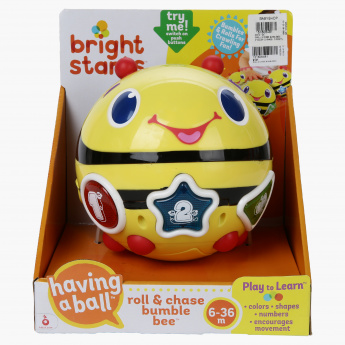 Bright Starts Roll and Chase Bumblebee