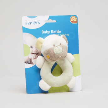 Juniors Teddy Bear Shaped Ring Rattler