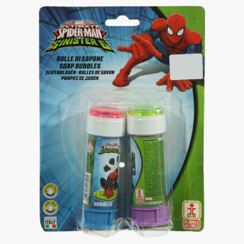 Spider-Man Printed Bubbles Blister - Set of 2