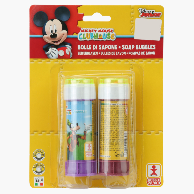 Mickey Mouse Clubhouse Bubble Blister - Set of 2