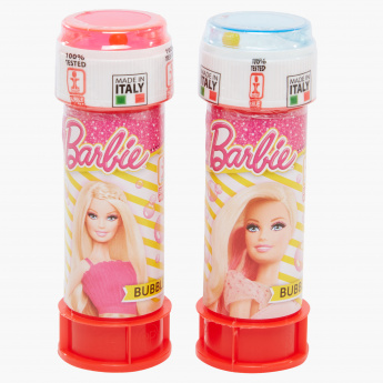 Barbie Printed Bubbles Blister - Set of 2