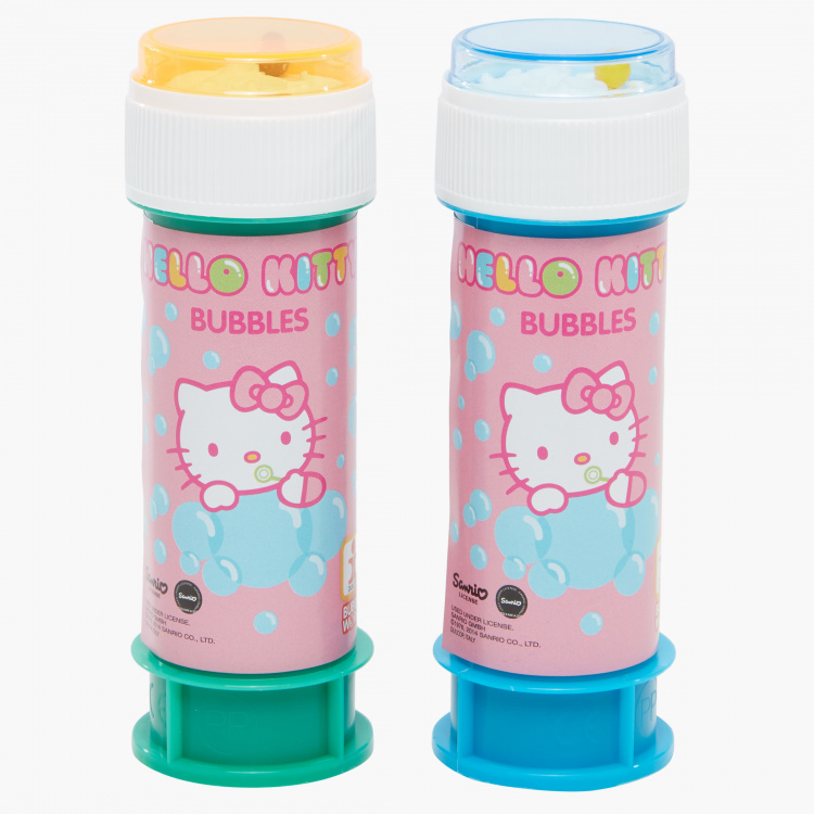 Hello Kitty Printed Bubbles Blister - Set of 2