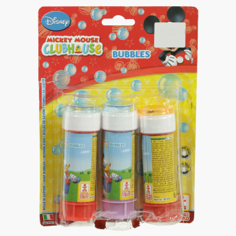 Mickey Mouse Clubhouse Soap Bubbles Toy - Set of 3