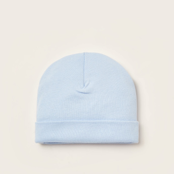 Juniors Ribbed Beanie Cap