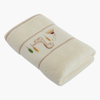 Juniors Embroidered Towel - 60x120