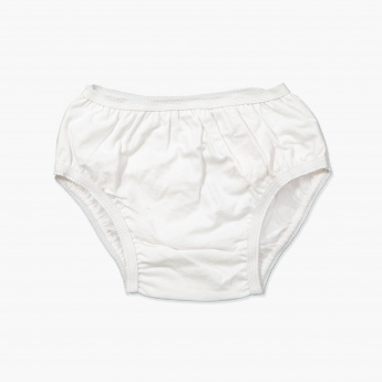Juniors Diaper Briefs with Lace Detail