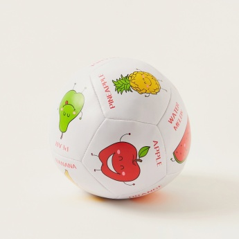 Juniors Fruit Printed Play Ball