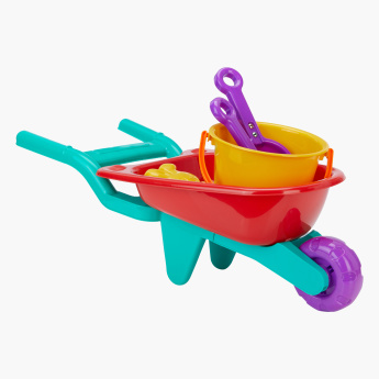 Juniors Jumbo Wheel Barrow Playset
