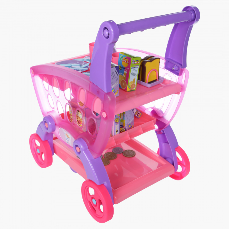 Juniors 3-in-1 Shopping Trolley Set