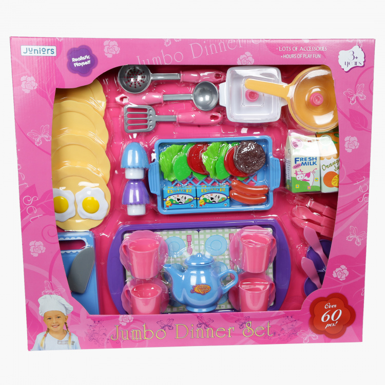 Juniors Jumbo Dinner Playset