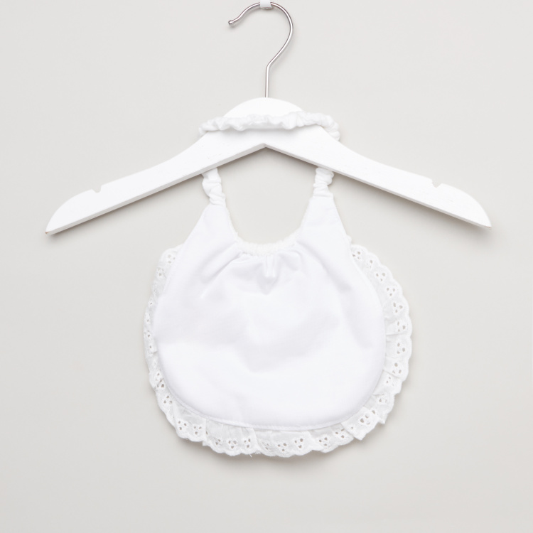 Juniors Bib with Ruffle Detail