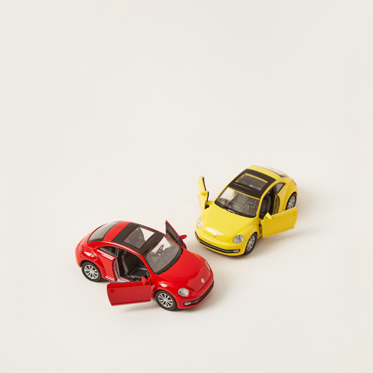 Pull Back Twin Beetle Car Pack