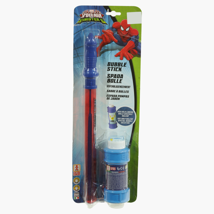 Spider-Man Printed Bubbles Sword - Medium