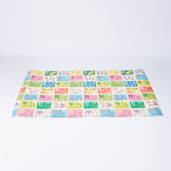 Juniors Numbers Printed Roll Mat