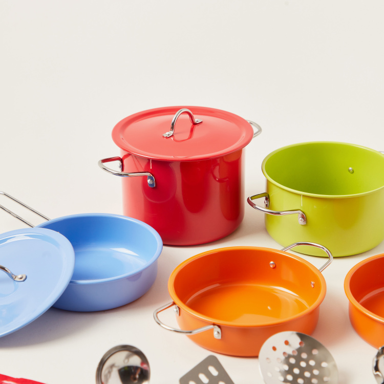 Just for Chef 13-Piece Non-Stick Cookware Playset