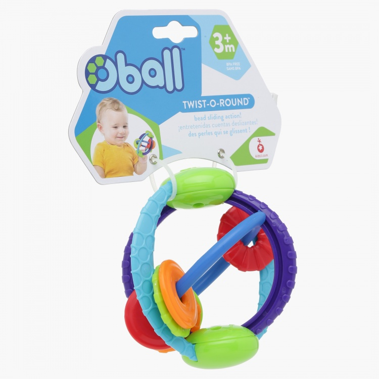 Bright Starts Oball Twist-O-Round Toy