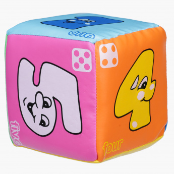 Juniors Printed Dice with Smiley