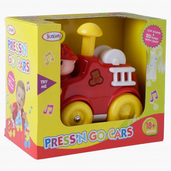 Juniors Press n Go Fun Car