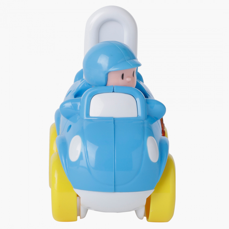 Juniors Press and Go Car Toy