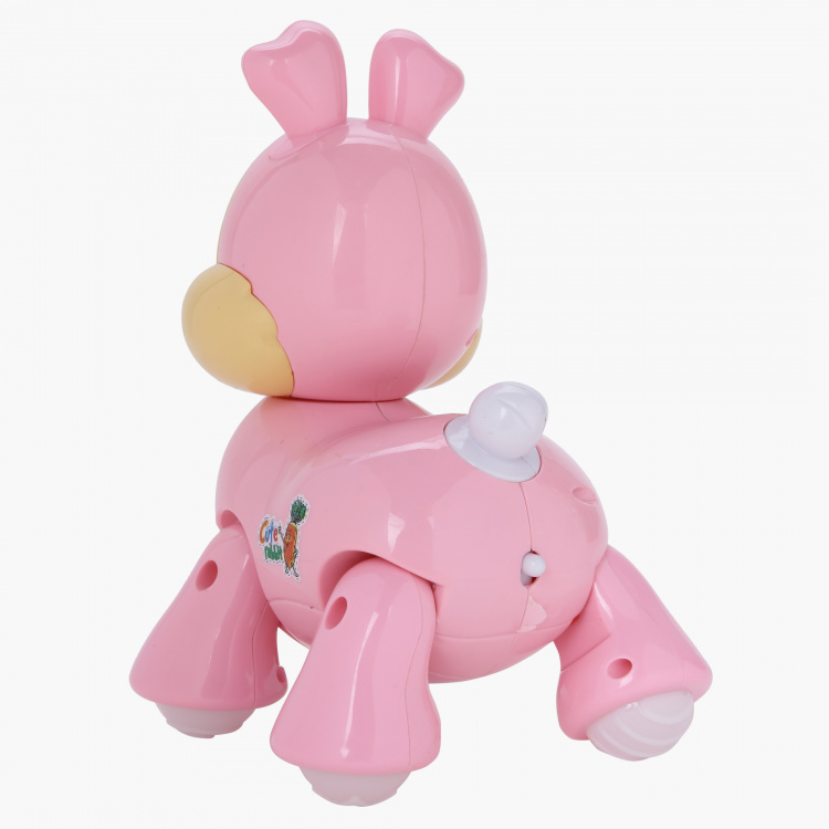 Juniors Light and Sound Rabbit Toy