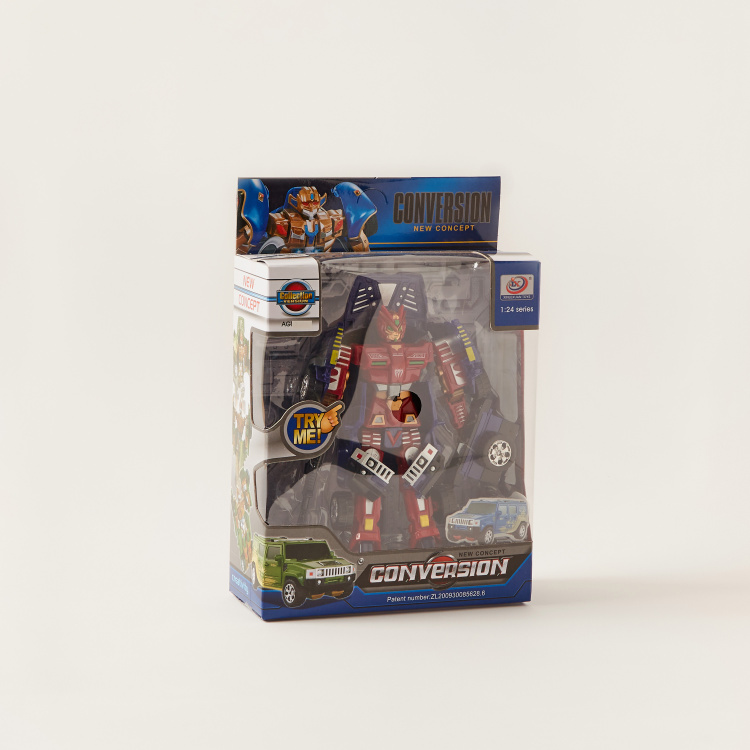 Conversion Truck Robot
