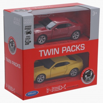 Welly Chevrolet Camaro ZL1 Pull Back Twin Car Pack