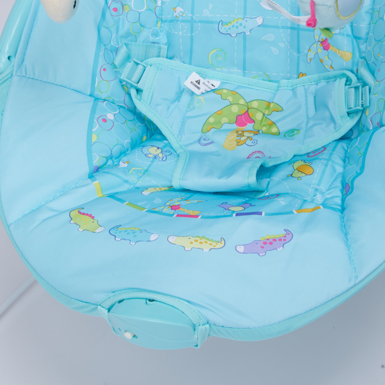 Juniors Cape Printed Baby Bouncer with Toy Bar