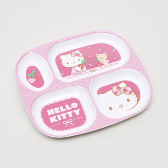 Hello Kitty Themed 5-Piece Dinner Set