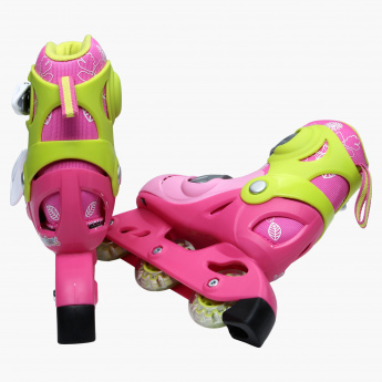 Juniors Inline Skates with Adjustable Wheels
