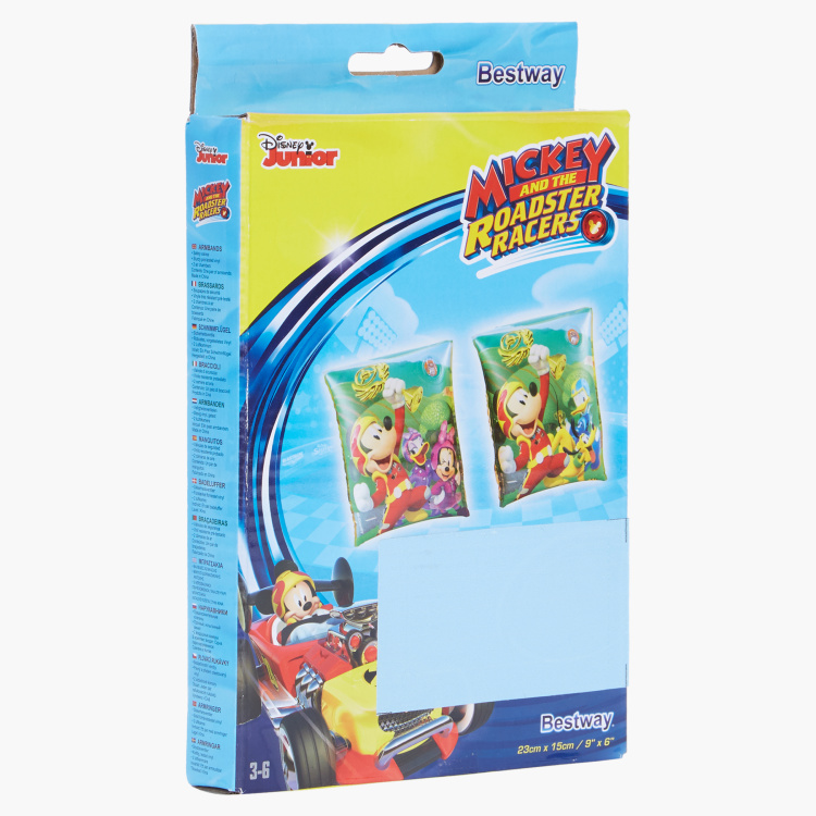 Bestway Mickey and the Roadster Racers Printed Armband