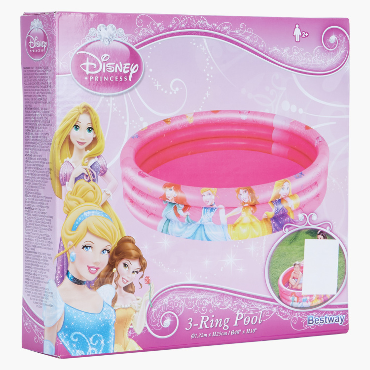 Bestway Princess Print 3-Ring Pool