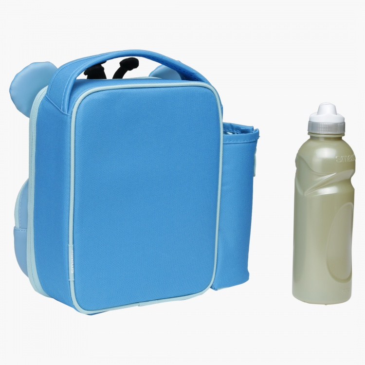 Smash Hippopotamus Lunch Bag and Bottle Set
