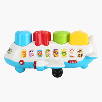 Playgo Musical Jet Playset