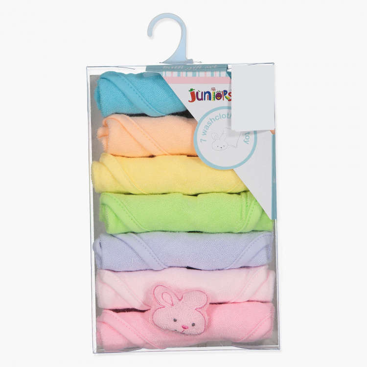 Juniors Washcloth - Set of 7