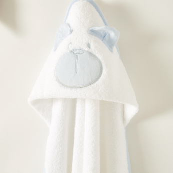 Juniors Embroidered Towel with Hood - 76x76 cms
