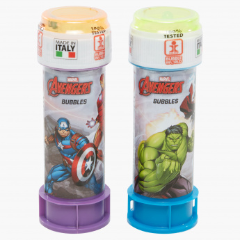 Avengers Printed Bubbles Blister - Set of 2