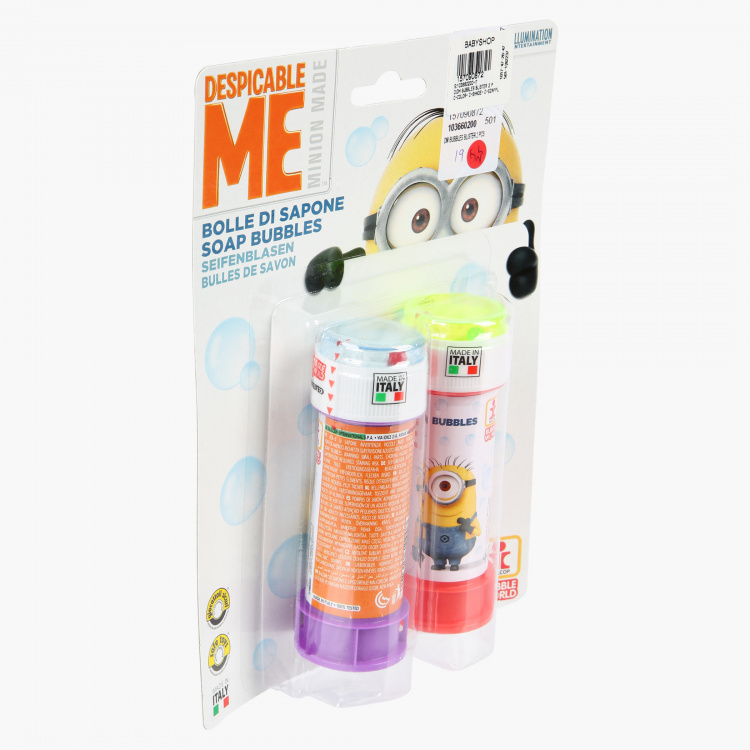 Despicable Me Bubble Blister - Set of 2