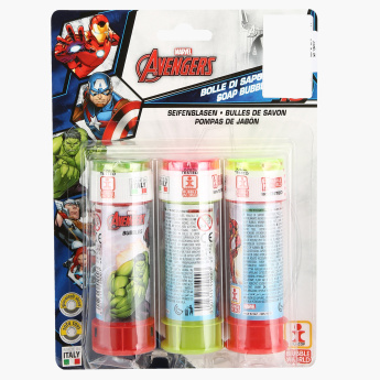 Avengers Bubbles Blister - Set of 3