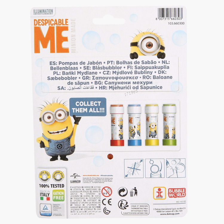 Despicable Me Bubble Blister - Set of 3