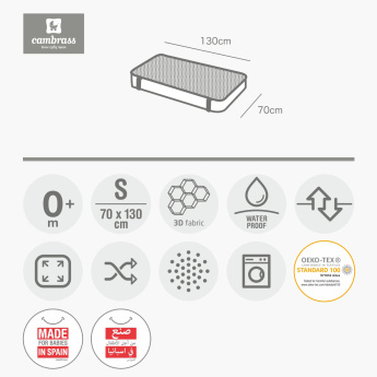 Juniors 3D Textured Mattress Protector