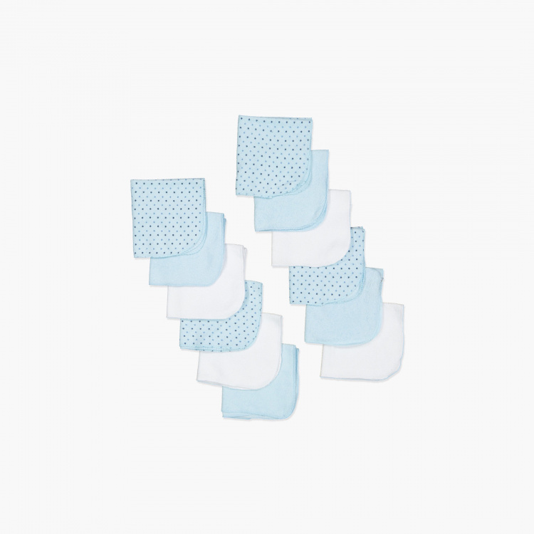 Juniors Assorted Washcloth - Set of 12