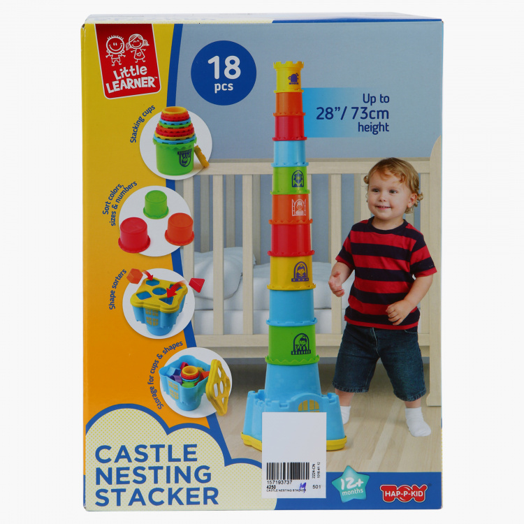 The Happy Kid Company Castle Nesting Stacker